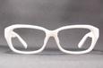 OWLopticwarlock(オウル オプティックワロック)GLシリーズ Three Point ホワイト メガネ